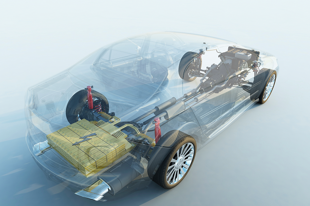 Automotive qualified ASIC for battery control applications