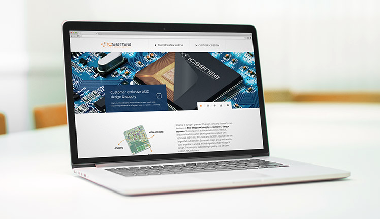 ICsense launched new website
