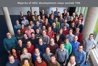 Majority ASIC developments outside TDK